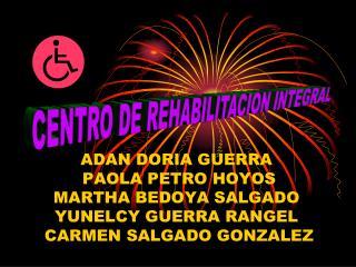 CENTRO DE REHABILITACION INTEGRAL