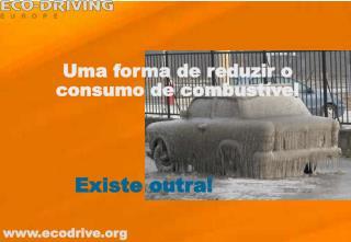 Uma forma de reduzir o consumo de combustível