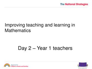 Improving teaching and learning in Mathematics