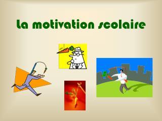 La motivation scolaire