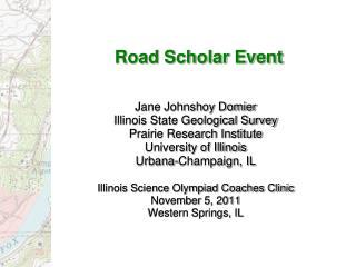 Road Scholar Event