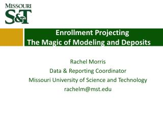 Enrollment Projecting The Magic of Modeling and Deposits