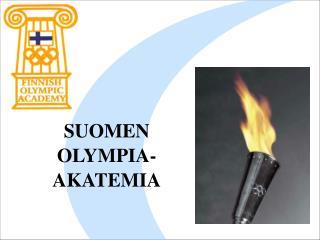 SUOMEN OLYMPIA-AKATEMIA