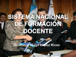 SISTEMA NACIONAL DE FORMACIÓN DOCENTE