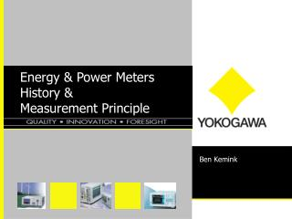 Energy & Power Meters History & Measurement Principle