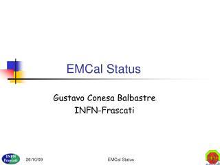 EMCal Status