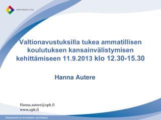 Hanna Autere