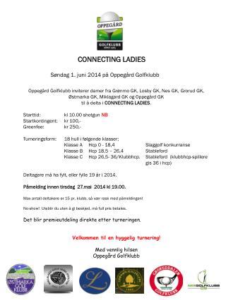 CONNECTING LADIES