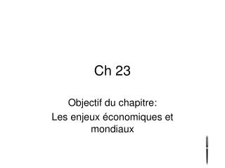 Ch 23