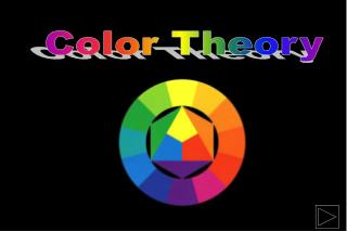 Color has three properties:Hue- which are the names of the colors. Value-which refers to the lightness or darkness  of a
