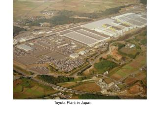 Toyota Plant in Japan