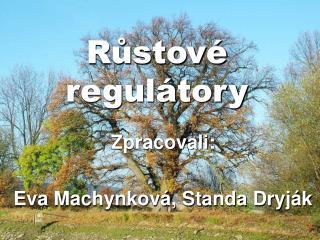Růstové regulátory