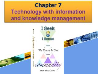 Chapter 7  Technology with information and knowledge management