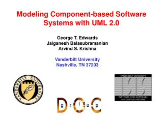 Modeling Component-based Software Systems with UML 2.0