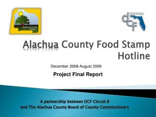 Alachua  County Food Stamp Hotline