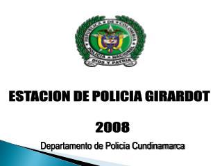 Departamento de Policía Cundinamarca