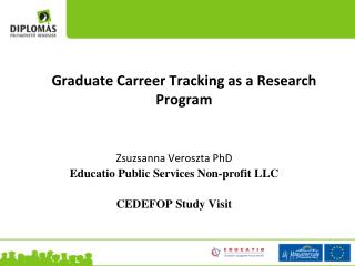 Graduate Carreer Tracking as  a Research Program