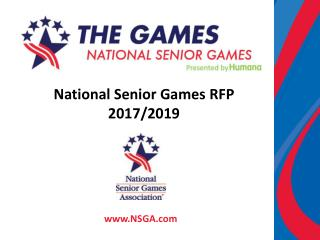 National Senior  Games RFP  2017/2019
