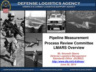 Pipeline Measurement Process Review Committee LMARS Overview