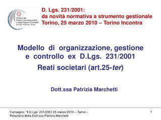 Dott.ssa Patrizia Marchetti