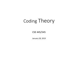 C Mini-Course