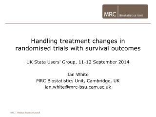 Handling treatment changes in randomised  trials with survival outcomes