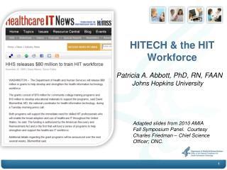 HITECH & the HIT Workforce