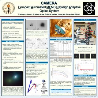 CAMERA  C ompact  A utomated  ME MS  R ayleigh  A daptive Optics System
