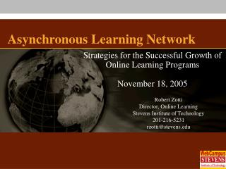 Asynchronous Learning Network