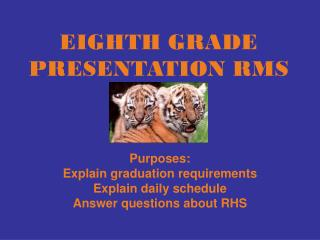 EIGHTH GRADE PRESENTATION RMS