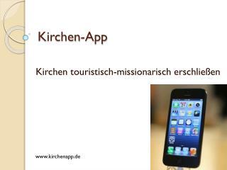 Kirchen- App