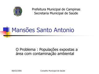 Mans es Santo Antonio