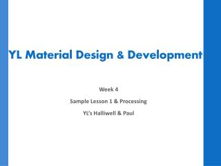 YL Material Design & Development