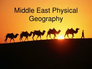 Middle East Physical Geography