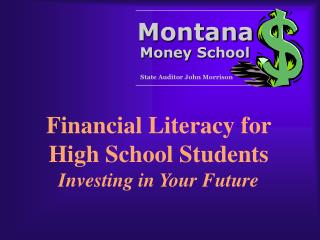 Financial Literacy for High School Students Investing in Your Future