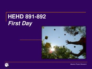 HEHD 891-892 First Day