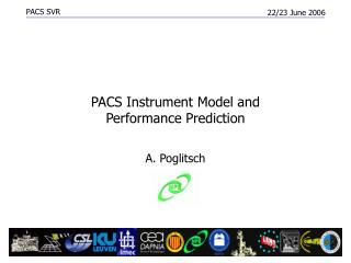 PACS  Instrument Model and Performance Prediction