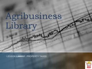 Agribusiness Library