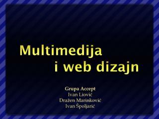 Multimedija              i web dizajn