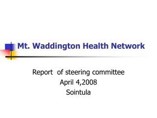 Mt. Waddington Health Network