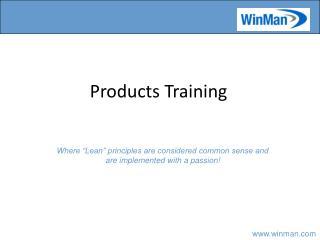 Products Training