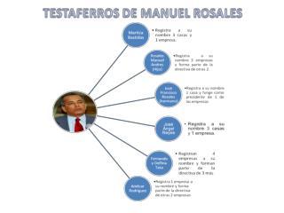 Manuel Rosales  Gobernador del estado Zulia