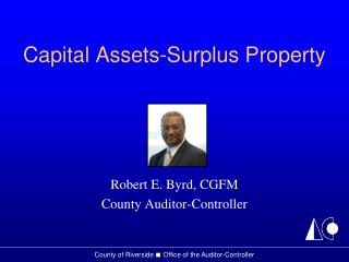 Capital Assets-Surplus Property