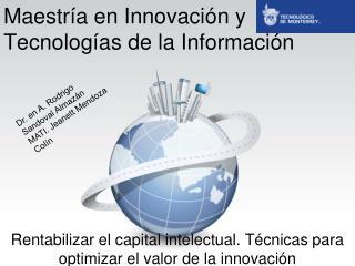 Maestría en Innovación y Tecnologías de la Información