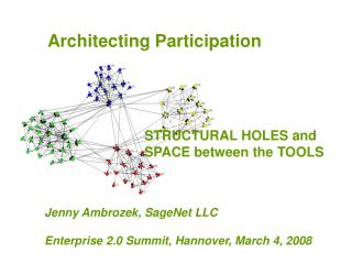 Architecting Participation