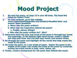 Mood Project
