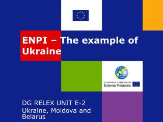 ENPI – The example of Ukraine