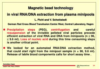 Magnetic bead technology in viral RNA