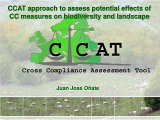 CCAT approach to assess potential effects of CC measures on biodiversity and landscape