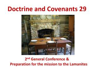 Doctrine and Covenants 29
